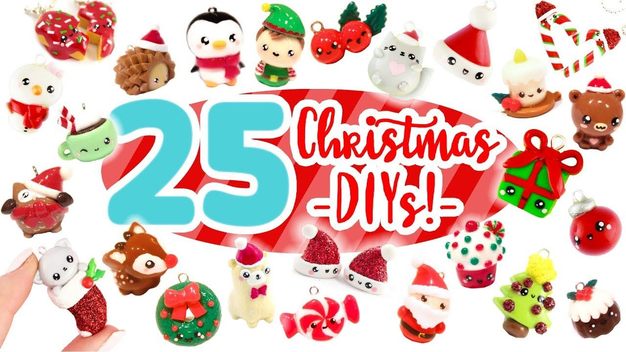 Christmas Diy Compilation 25 Cute Clay Ideas Youtube Cute Clay Christmas Clay Christmas Diy
