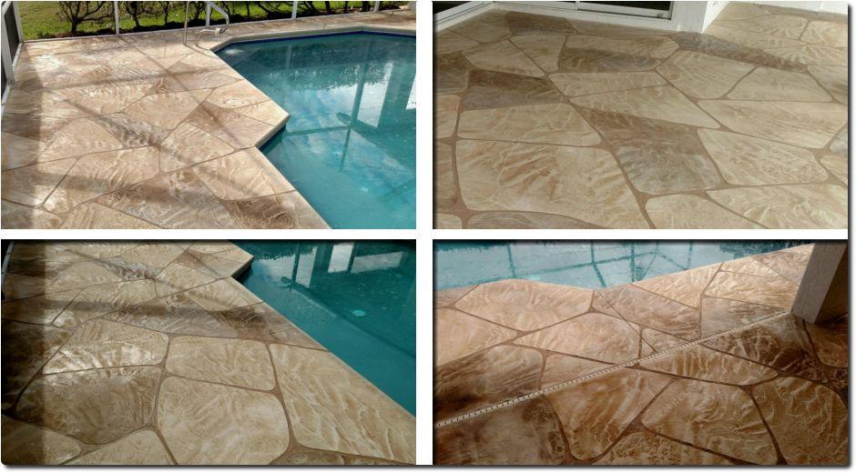 Free Estimates On Curbing Pool Decks Driveways Patio