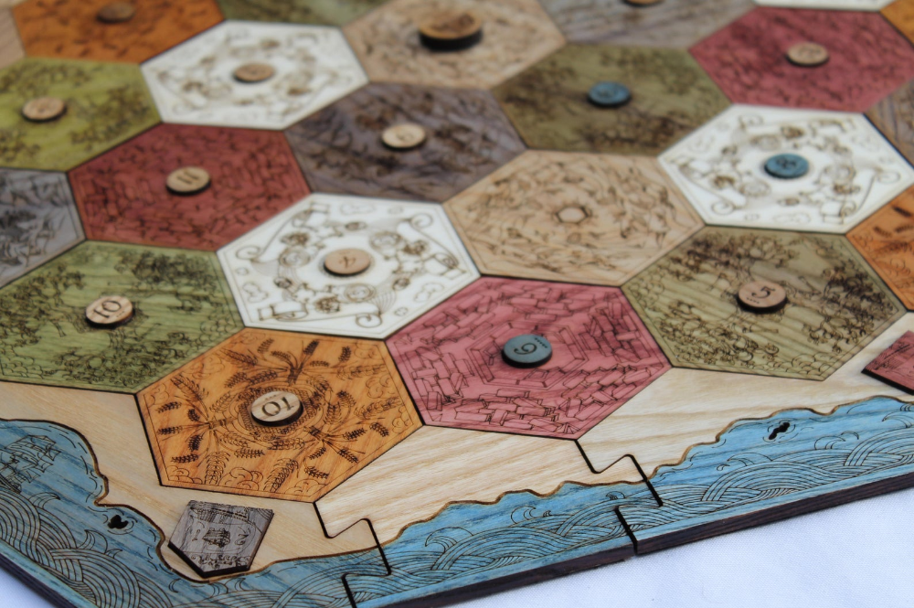 Custom Game Board for Settlers of Catan 24 Player, 26