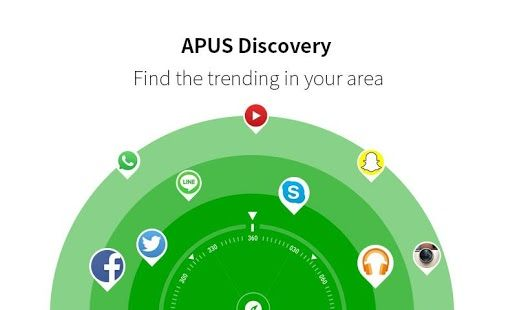 APUS Launcher Fast & Smart App, Hide apps, Secret apps