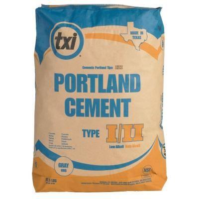 Txi 92 1 2 Lb Portland Cement 4609 The Home Depot