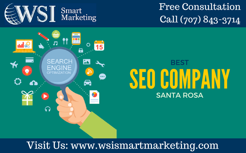 Highly The Experienced Seo Professionals Wsi Smart Marketing Specializes In Seo In Santa Rosa Our Dedicated Prof Website Design Company Seo Company Marketing