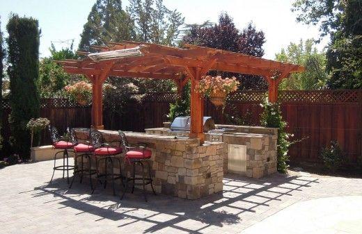 Outdoor Kitchen Pergola Fireplace Wood Pergola Kits, Backyard Pergola,  Pergola Canopy, Wooden Pergola - How To Build Lowes Pergola Plans PDF Woodworking Plans Lowes Pergola