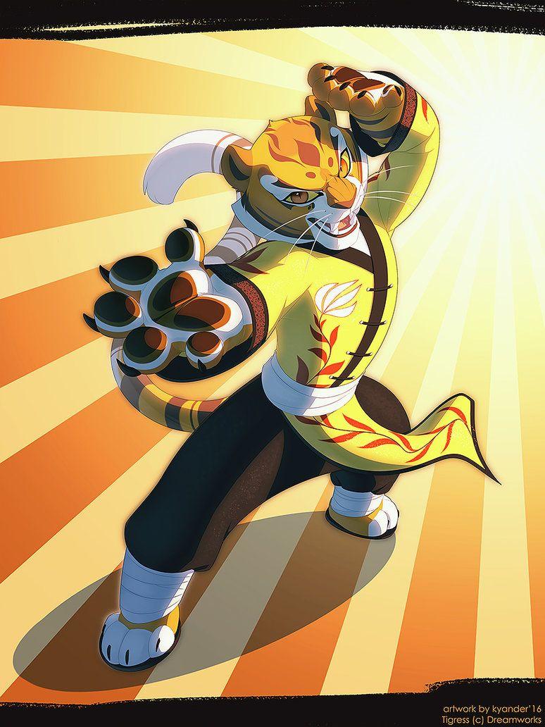 KFP : Master Tigress by shaloneSK on DeviantArt