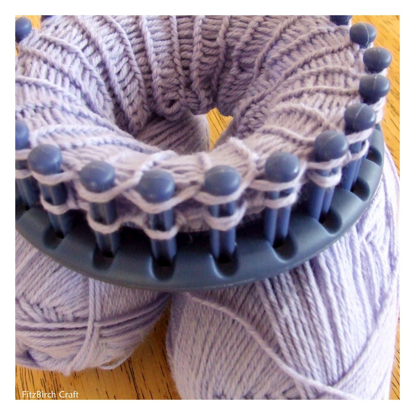 Up until now, I have only used the straight loom knitter for a ...