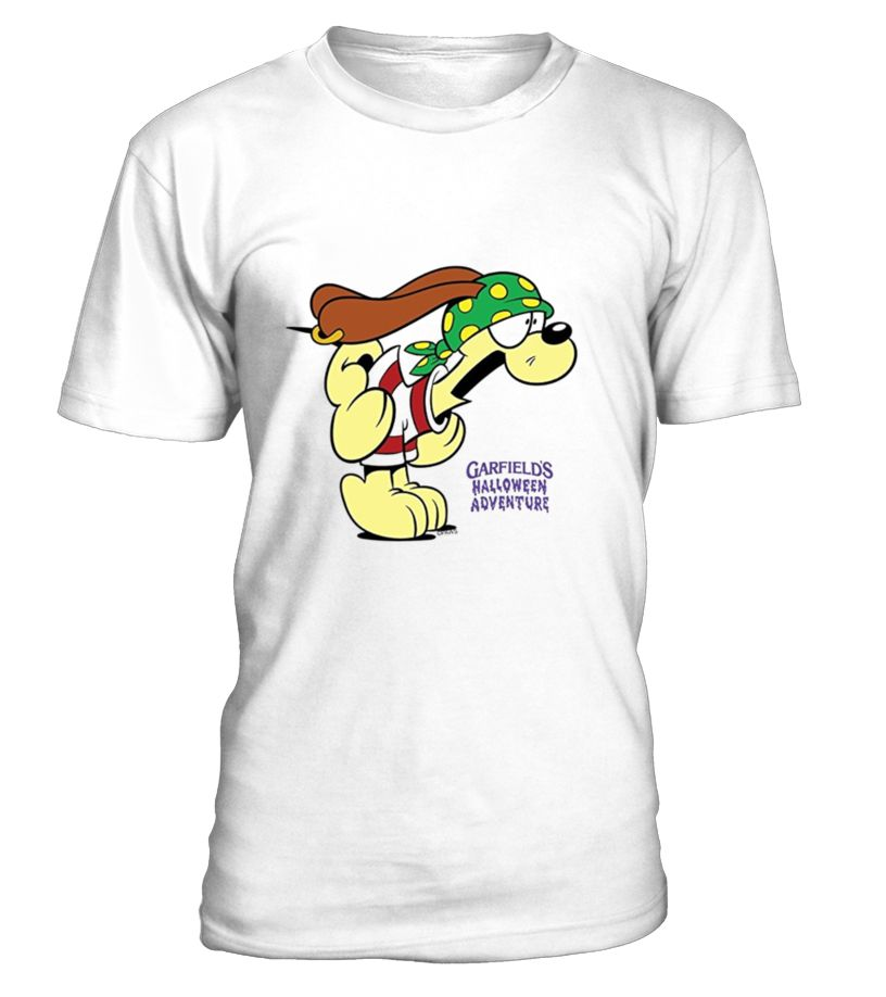 Garfield Pirate Odie Running Away Fitnesstrainer Tshirt Tee Gift Holiday Art Design Designer Tshirtformen Tshirtforwomen Bestts Running Shirts T Shirt Shirts