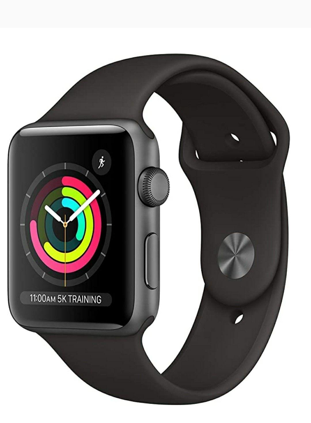 Apple Watch Series 3 (GPS, 42mm) Space Gray Aluminum