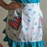 Flirty Perfect Fit Apron Tutorial | Gingercake