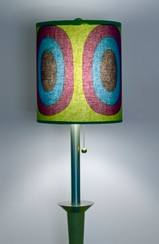 "Rare Custom made Marimekko Melooni Lamp Shade 9"" x 11"". $79.90, via Etsy."