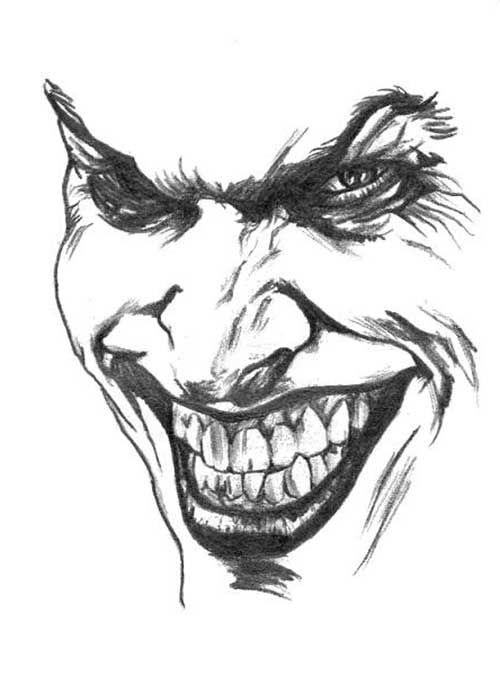 Pin De Heidi Ponet Em Clowns Tatuagem Coringa Desenhos Do