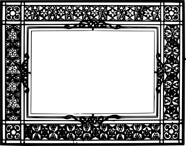 vector clip art online royalty free public domain old frame