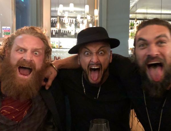 Khal Drogo Met Tormund And The Hound In Real Life And Had ...