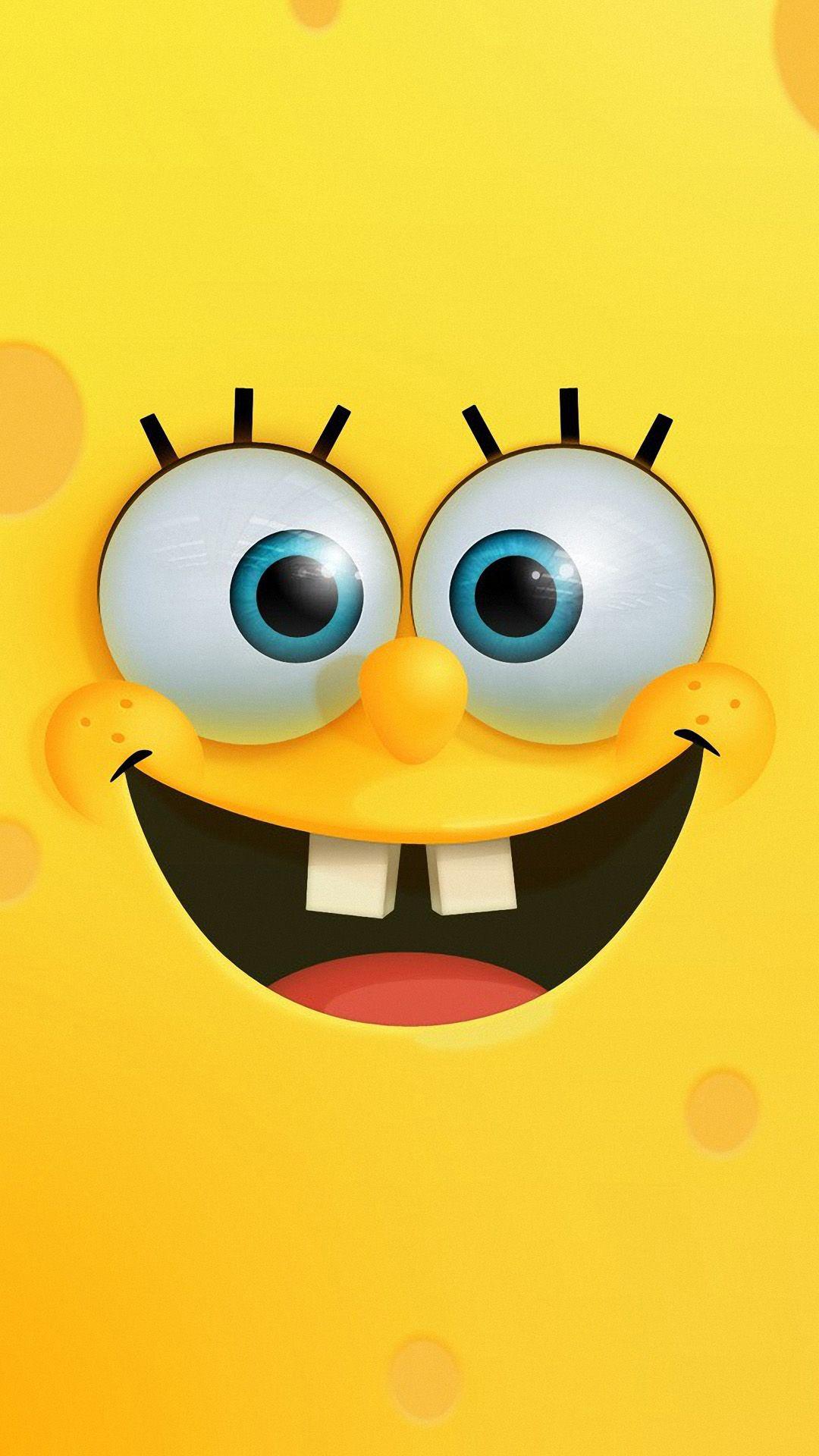 Sponge Bob Mobile HD Wallpaper in 2020 Spongebob