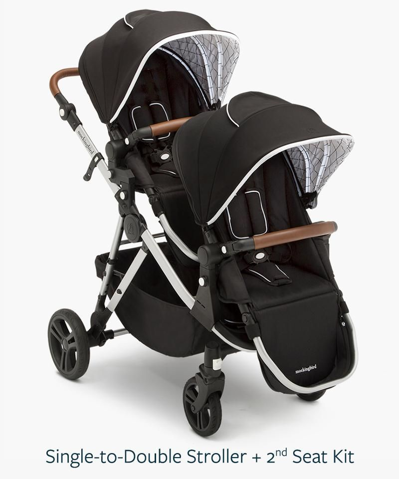 15++ Mockingbird stroller double configuration information
