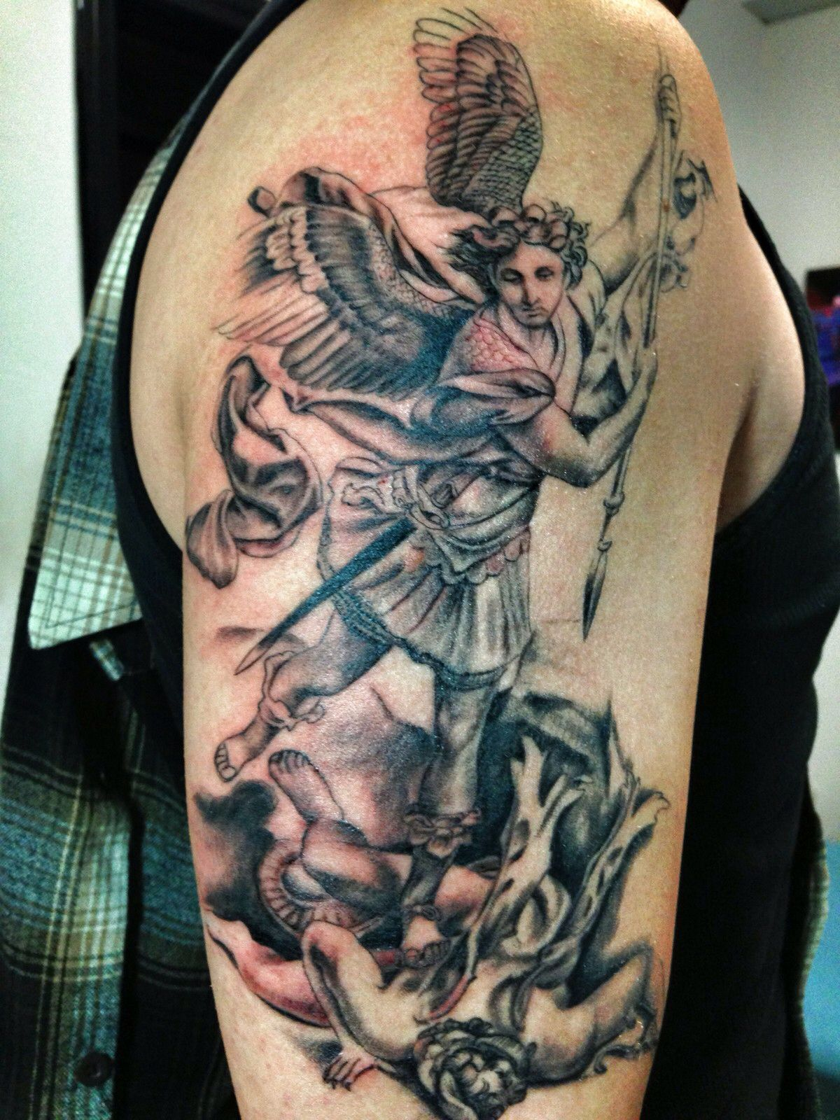 archangel michael tattoo - HD1200×1600