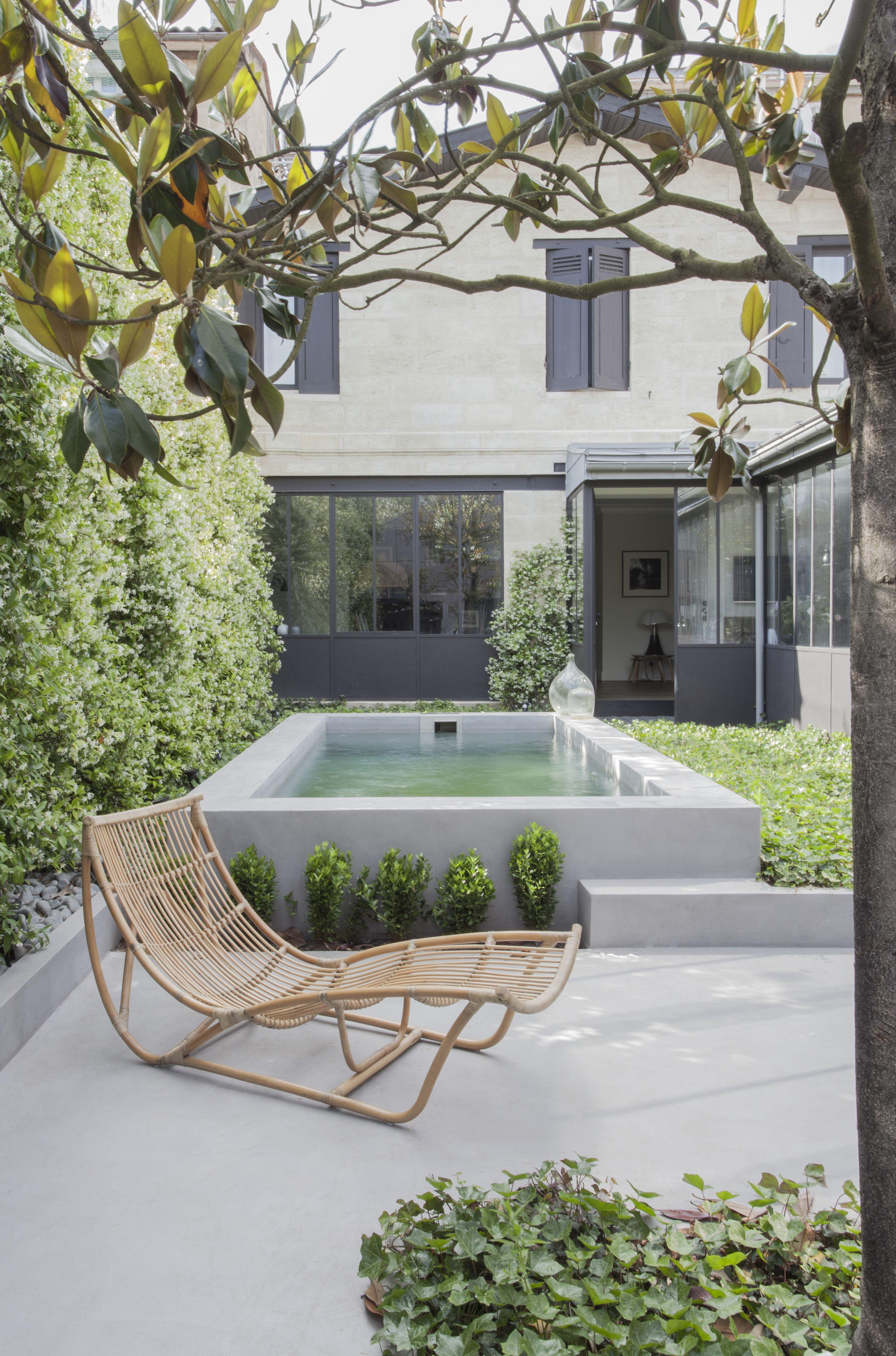 maison de ville 1 la maison po tique agencement en 2019 petite piscine piscine et maison. Black Bedroom Furniture Sets. Home Design Ideas