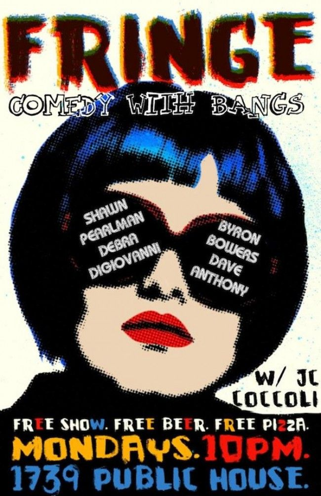 Have Some Fun with FRINGE TONIGHT at Public House