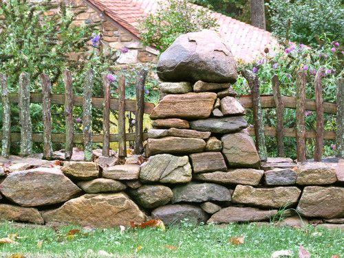Hobbit House Traditional Landscape Log Fence Landscape Traditional Landscape Natural Landscaping