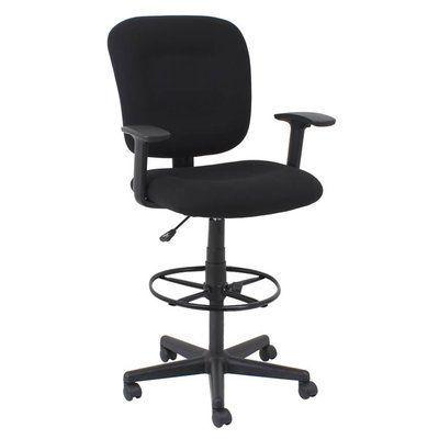 Kathy Ireland Office Committee Ergonomic Drafting Chair  #ergonomicofficechairfurniture