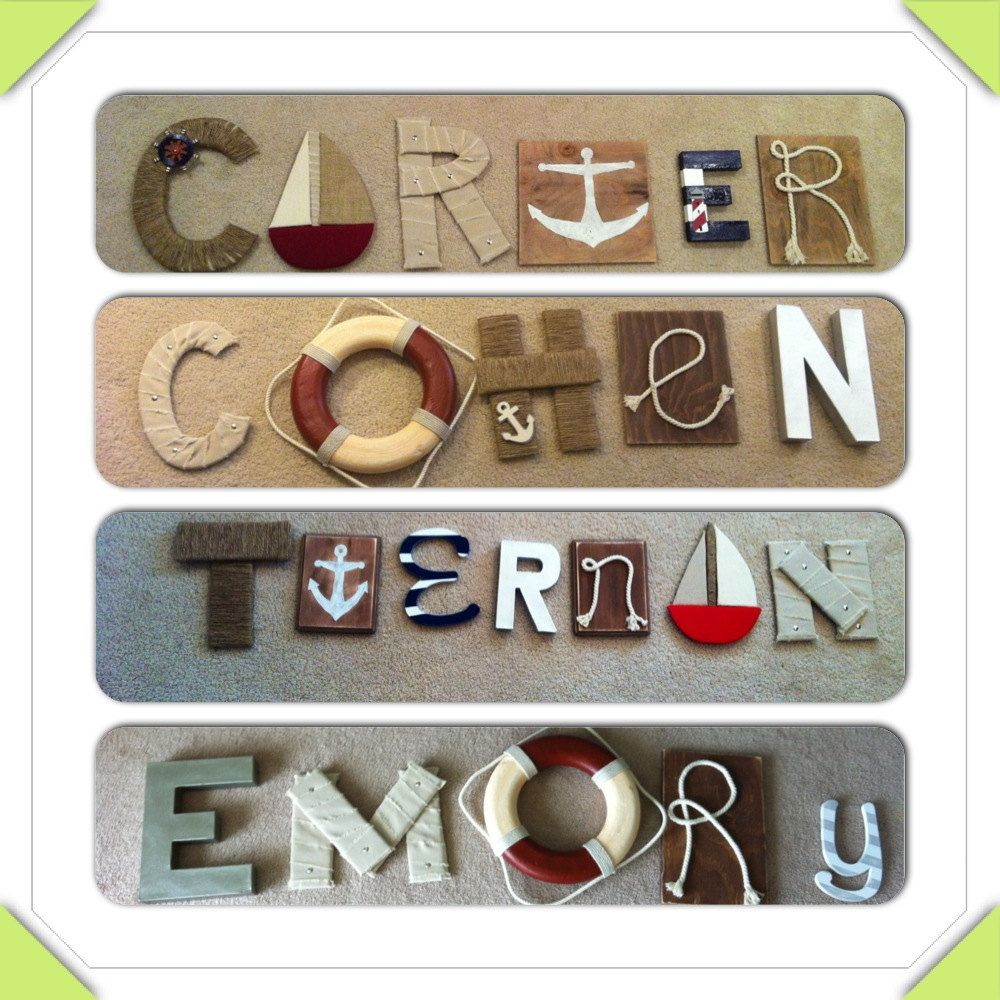 Pictures starting with alphabet decor