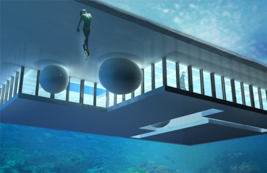 underwater home | Dream Home | Underwater house ...