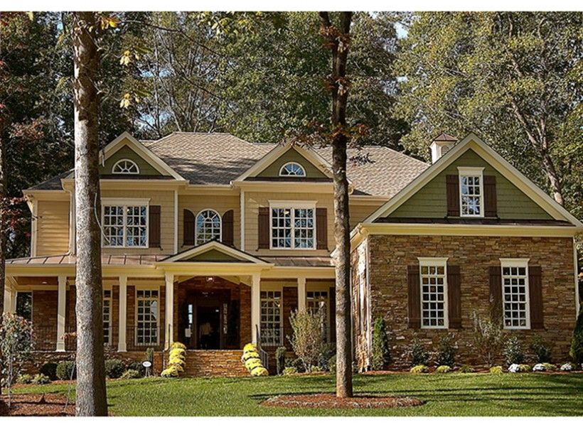 greek revival style 2 story 5 bedrooms s house plan with 3312 total rh pinterest com