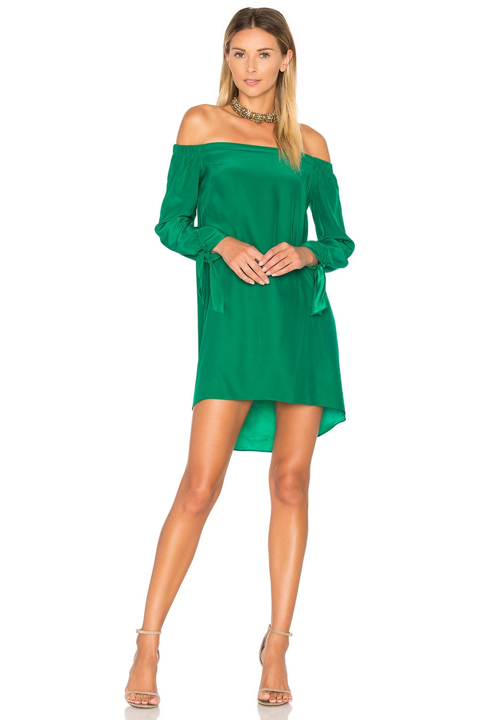 ec73da673d Amanda Uprichard New Desiree Dress in Dark Green | Closet- dresses ...