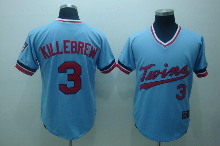 fc53dea3c ... 22.00 MLB Jerseys Minnesota Twins Harmon Killebrew 3 Baby Blue ...