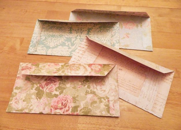 Instructions On How To Make Letter Envelopes Out Of Pretty X