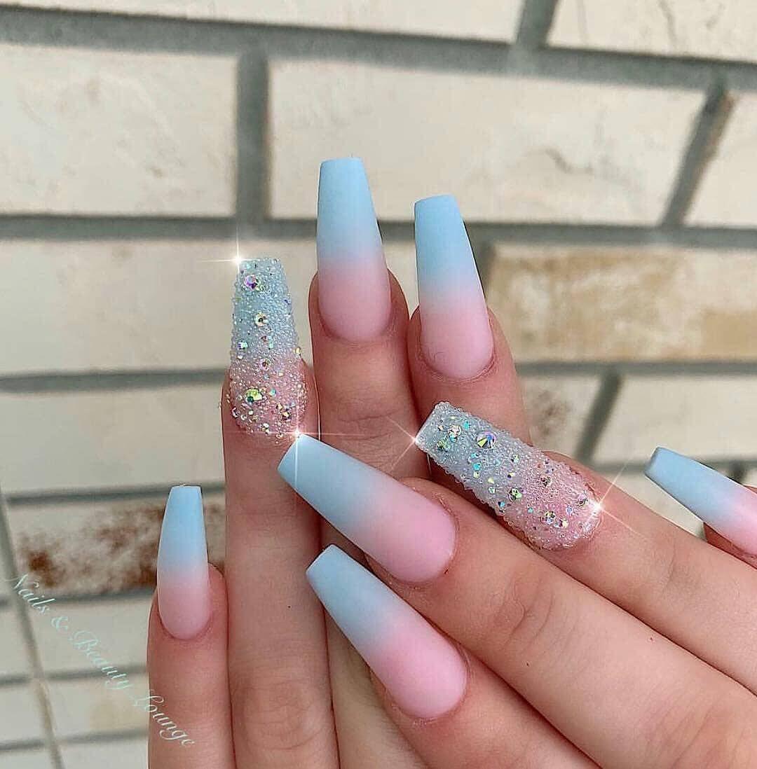 100 Bright Summer Nail Designs 2019 Bright Summer Nails Designs Ombre Acrylic Nails Summer Acrylic Nails