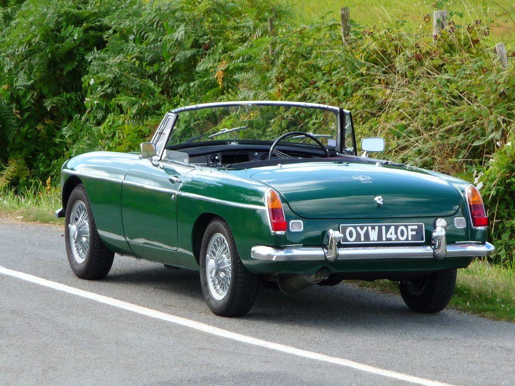 British Racing Green | Annonce MG B Vente MGB 1968 British Racing ...