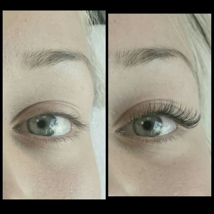 626be2add4c My favorite set yet. Volume lashes. Mixed of Silk C curl and Mink D ...