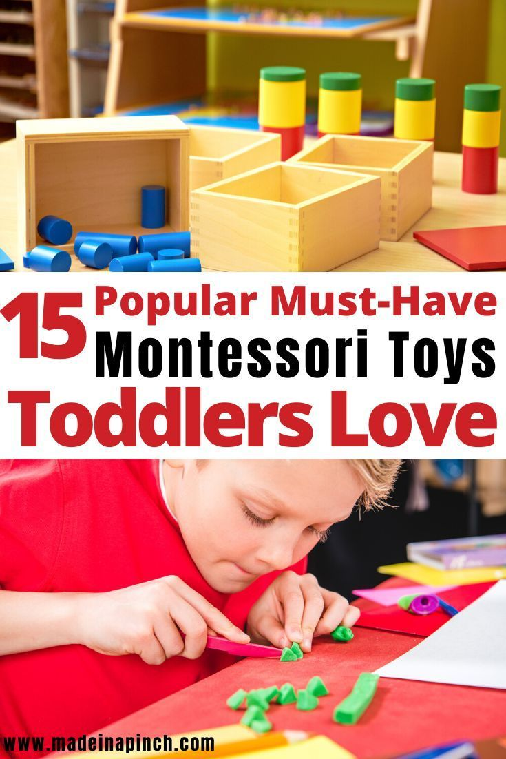 Top 15 Montessori Toys For 2 Year Olds | Life skills kids ...