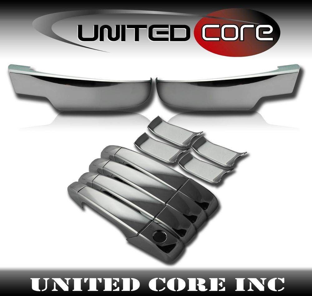 Gmc Yukon Sierra Chrome Bottom Lower Half Mirror Cover Door Handle Cover 07 13 Ebay Chevy Tahoe Chevy Chevy Silverado