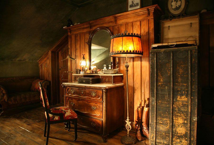 Mildred Pierce - 1930's California attic dressing table | Production Designer: Mark Friedberg