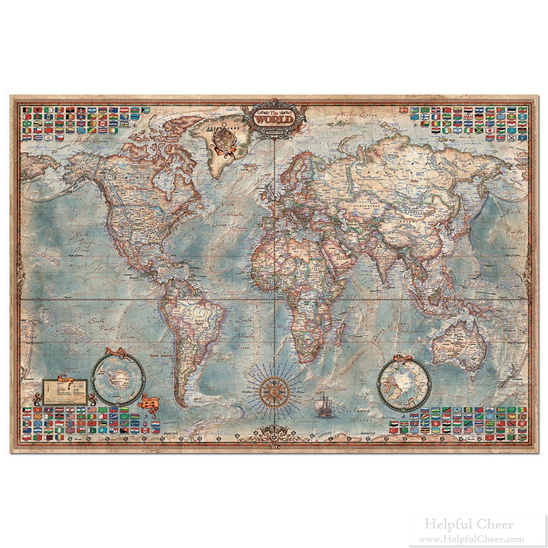 The world map flags 4000 piece puzzle black friday deals are back the world map flags 4000 piece puzzle black friday deals are back thousands of deals thousands gumiabroncs Choice Image