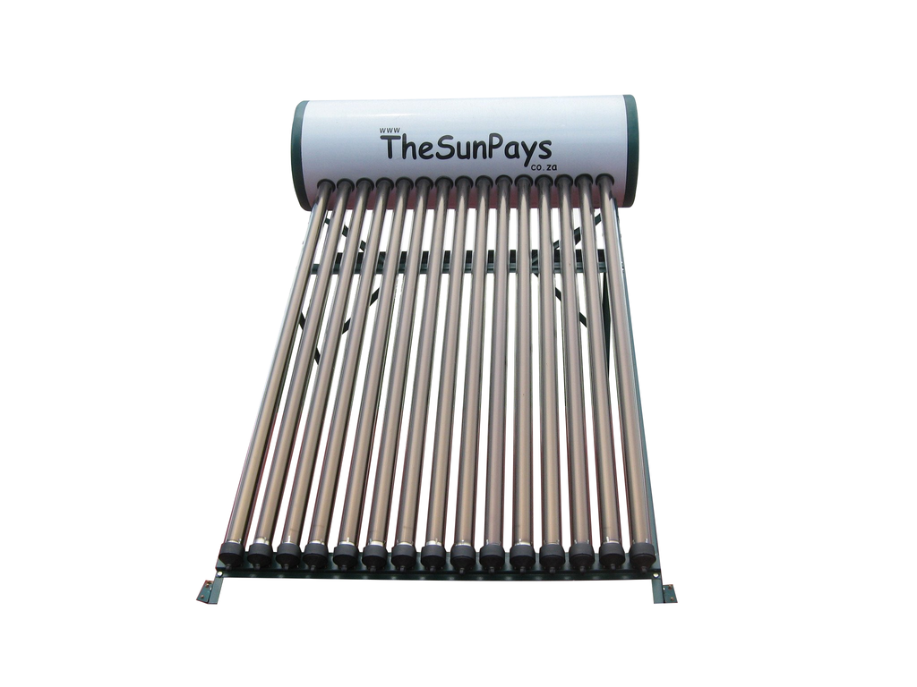 Low Pressure 100L Solar Geyser With Auxiliary Tank (2-Year ...