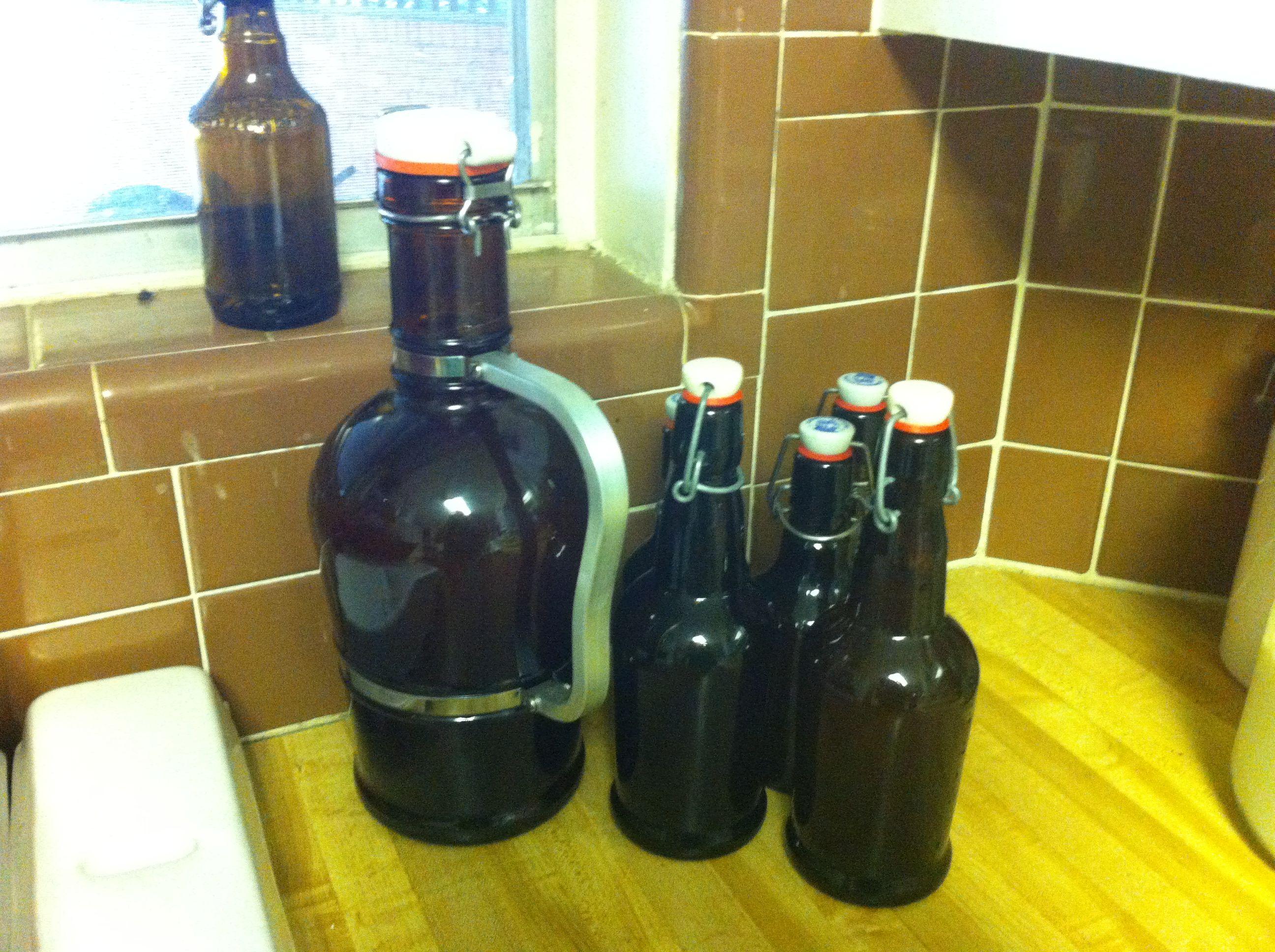 bottles for fermenting