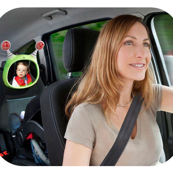 Espejo para coche oly con luces y sonidos para beb s for Espejo retrovisor de bebe