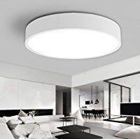 Wohnzimmerlampe Decke Lampe Wohnzimmer Weiß Deckenlampe ...