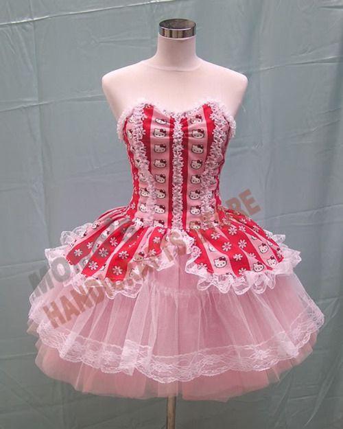 Hello Kitty corset dress | hello kitty | Pinterest