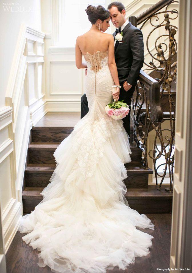 Inbal Dror Gown | Photography: Art Haus Foto | Wedding dresses ...