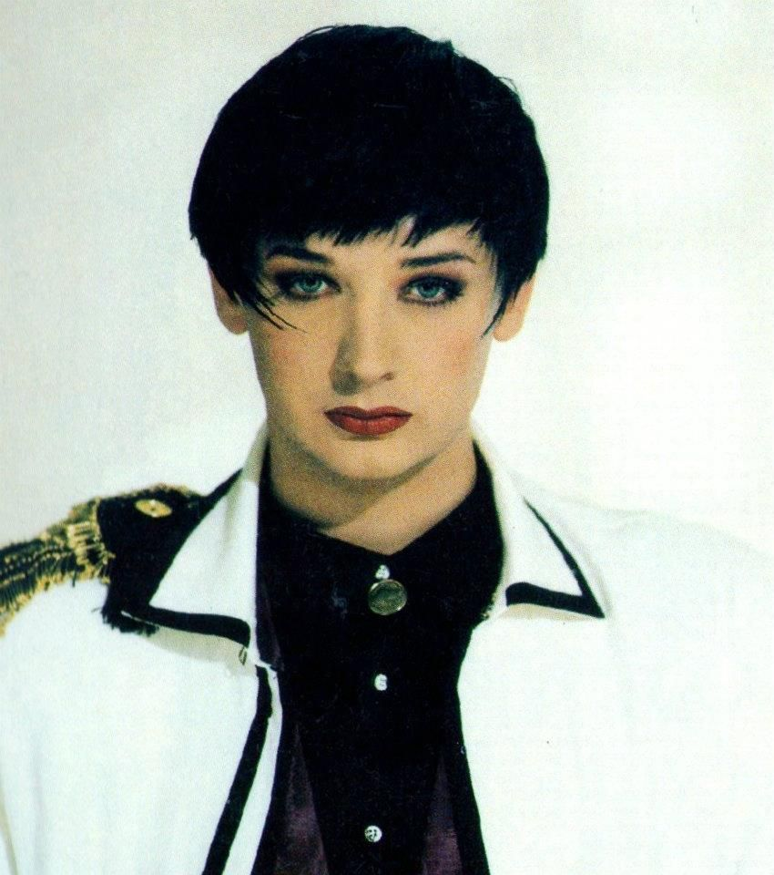 Pin By Jennifer George On Boys Rooms: Boy George. From The Cover Of Culture Club's FROM LUXURY