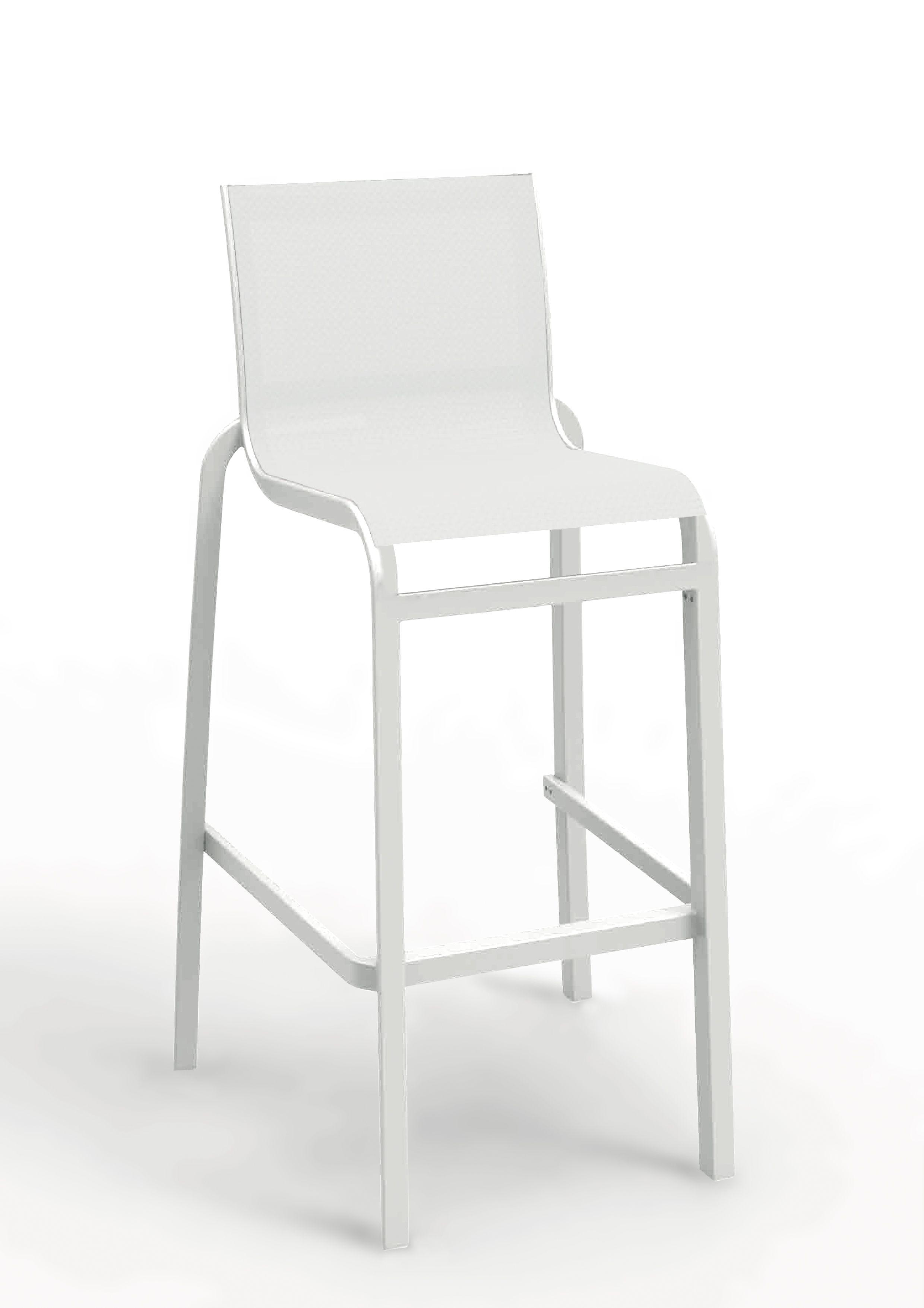 Le Blanc Eclatant Pour Votre Chaise Haute De Bar En 2020 Chaise Haute Chaise Haute Bar Decoration Blanc