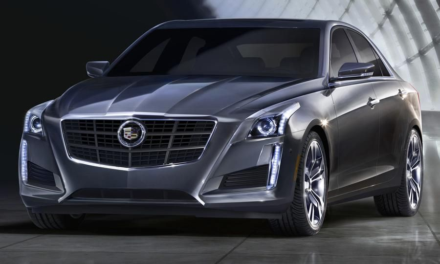 2014 Cadillac CTS sedanNew styling brings some smooth and