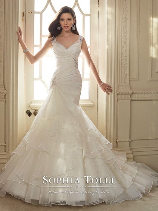 Michigan bridal wedding gown store Sophia Tolli Bridal Y11647-Thema Sophia Tolli Bridal for Mon Cheri Perfect Fit Bridal |Tuxedos | Prom -…