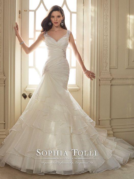 Michigan bridal wedding gown store Sophia Tolli Bridal Y11647-Thema ...