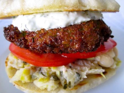 From the always delicious burgers here there egyptian inspired egyptian recipes forumfinder Images