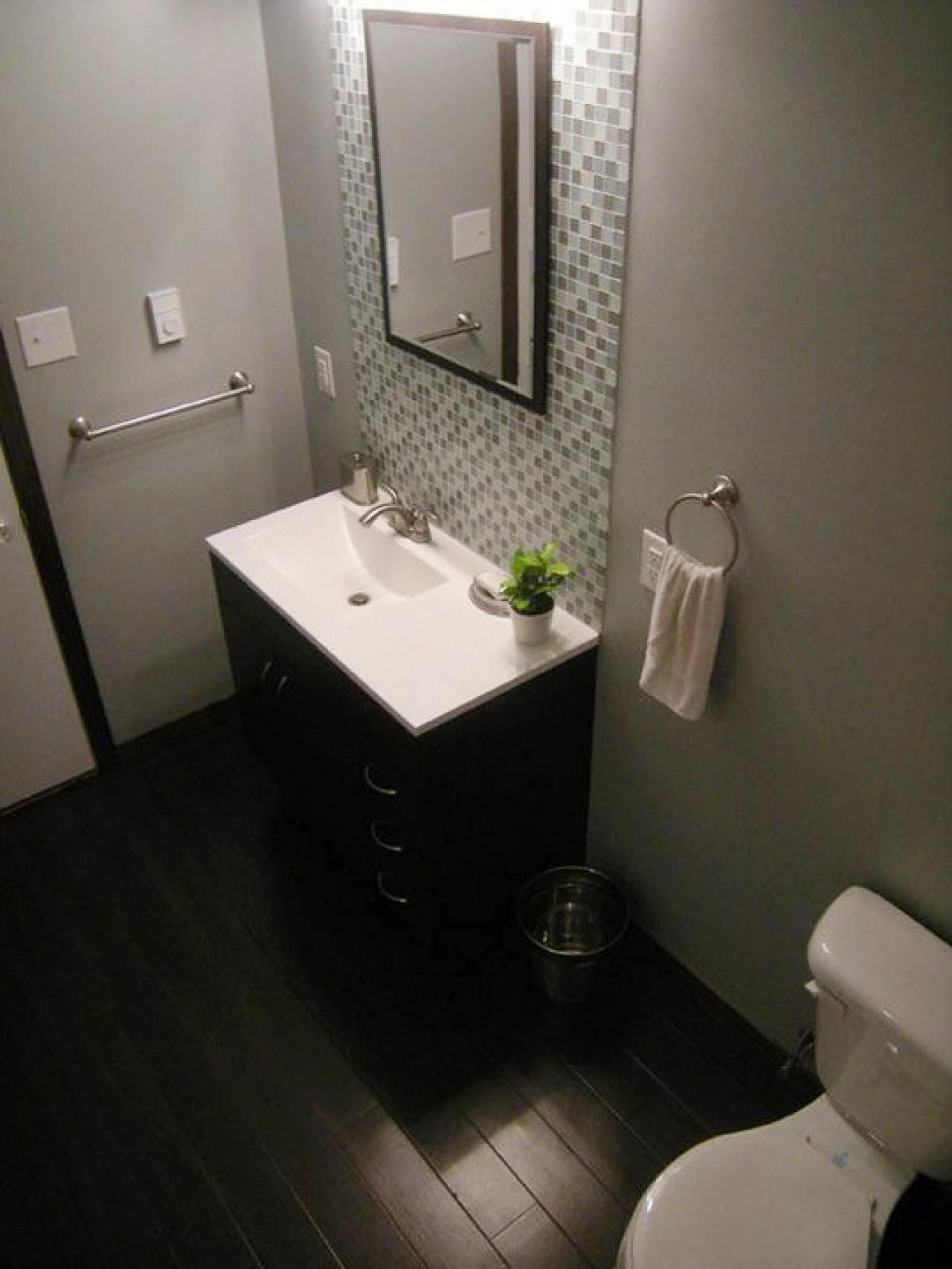 Budgeting For A Bathroom Remodel Pinterest Budget Bathroom - Small bathroom renovations on a budget