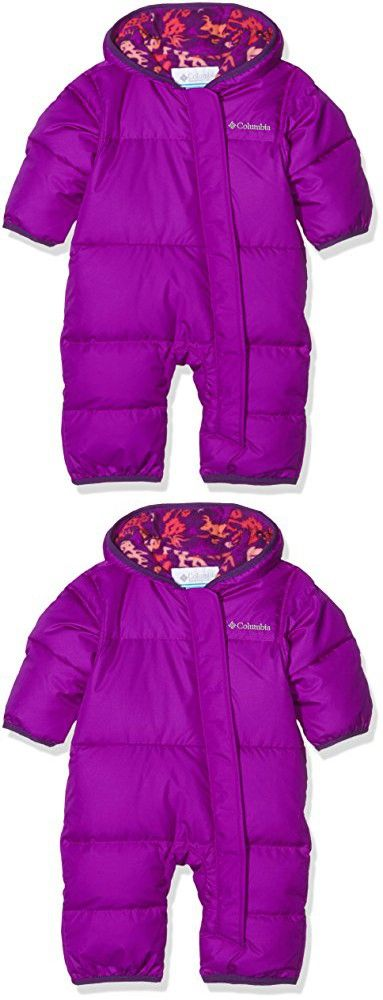 1a49397a0 Columbia Baby Girls' Snuggly Bunny Bunting, Bright Plum Critters, 12-18  Months